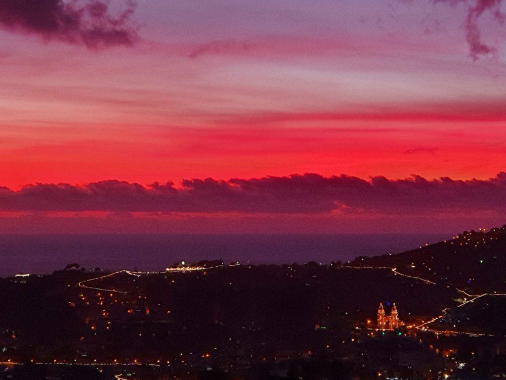 Natt över Funchal