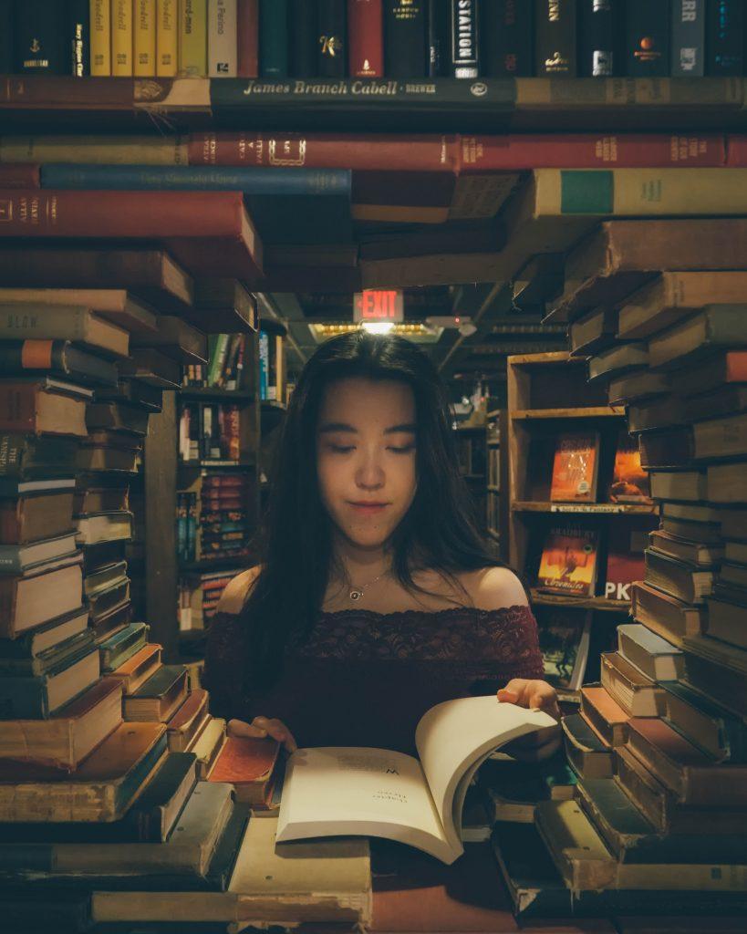 Böcker stöder böcker